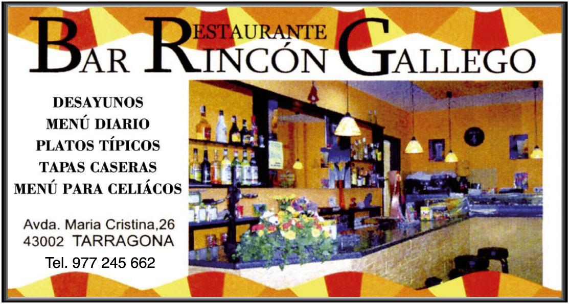 BAR RESTAURANTE RINCÓN GALLEGO