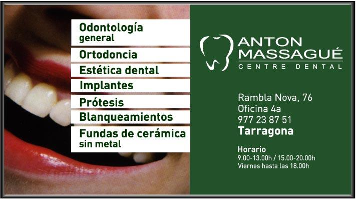 Anton Massagué - CENTRO DENTAL