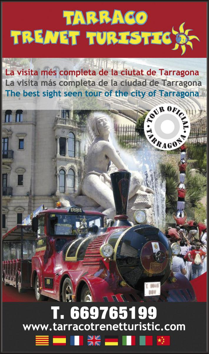 Tarraco tourist train